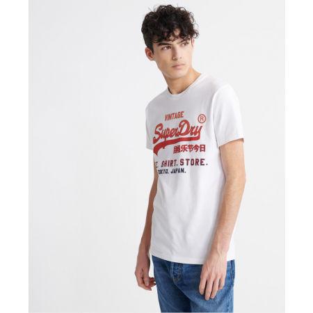 Мъжка тениска - Superdry VL FADE T_SHIRT STORE TEE - 2