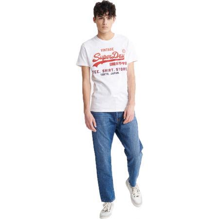 Мъжка тениска - Superdry VL FADE T_SHIRT STORE TEE - 1