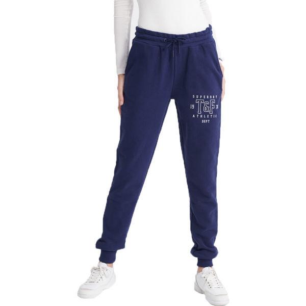Superdry TRACK & FIELD JOGGER albastru închis 14 - Pantaloni de trening damă