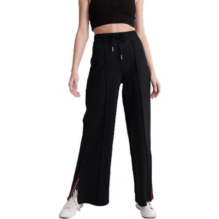 Superdry EDIT WIDE LEG JOGGER - Dámské kalhoty