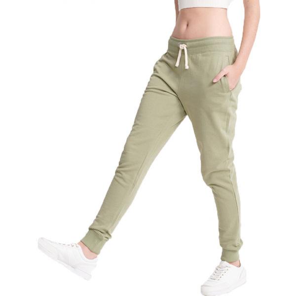 Superdry THE STANDARD LABEL JOGGER verde 12 - Pantaloni de trening damă