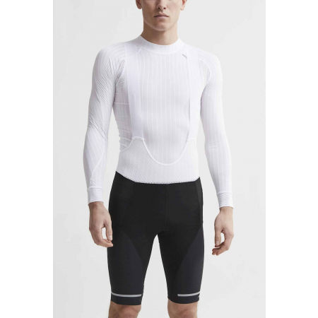 Men's short cycling tights - Craft HALE BIB BLK - 2