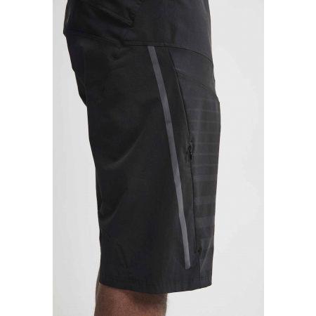Pantaloni scurți ciclism de bărbați - Craft HALE XT BLK - 2