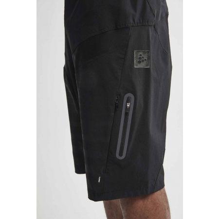 Pantaloni scurți ciclism de bărbați - Craft HALE XT BLK - 3