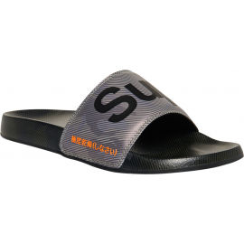Superdry PRINTED BEACH SLIDE - Șlapi bărbați