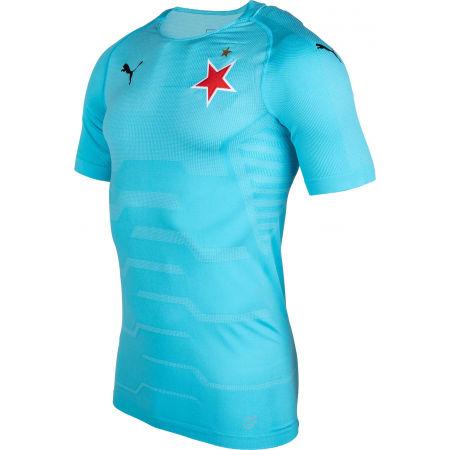 Men's goalkeeper T-shirt - Puma SLAVIA FINAL EVOKNIT GK - 2