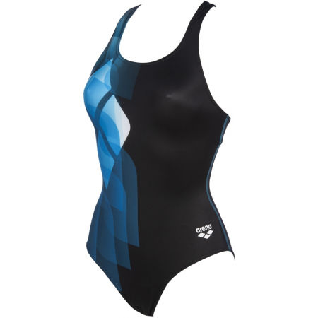 Дамски цял бански - Arena MIRRORS SWIM PRO BACK ONE PIECE LB - 1