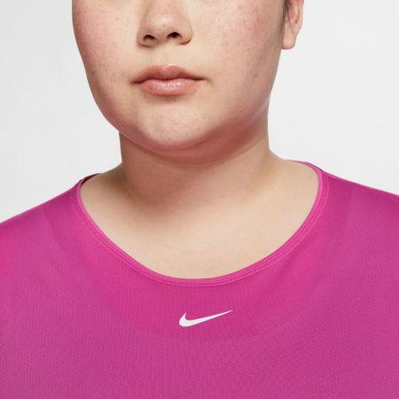 Dámske tričko plus size - Nike TOP SS ALL OVER MESH PLUS W - 5