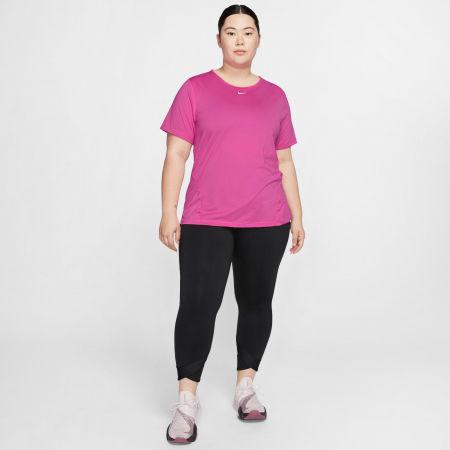 Dámske tričko plus size - Nike TOP SS ALL OVER MESH PLUS W - 6
