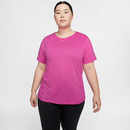 Dámske tričko plus size - Nike TOP SS ALL OVER MESH PLUS W - 3