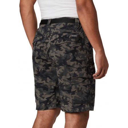 Мъжки къси панталони - Columbia SILVER RIDGE PRINTED CARGO SHORT - 3