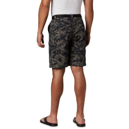 Мъжки къси панталони - Columbia SILVER RIDGE PRINTED CARGO SHORT - 5