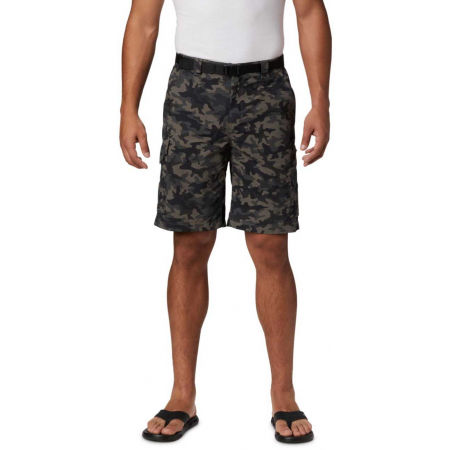 Мъжки къси панталони - Columbia SILVER RIDGE PRINTED CARGO SHORT - 4