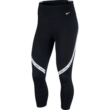 Nike ONE TGHT CROP NVLTY W - Women's leggings