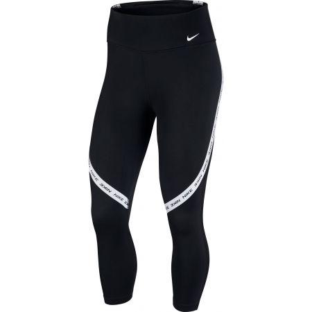 Nike ONE TGHT CROP NVLTY W - Дамски клин