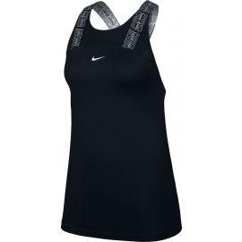 Nike NP DRY ELSTK TANK MAT VNR SU W - Dámské sportovní tílko