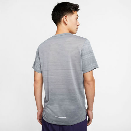 Мъжка тениска за бягане - Nike DRY MILER TOP SS M - 4