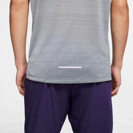 Мъжка тениска за бягане - Nike DRY MILER TOP SS M - 7