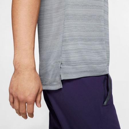 Мъжка тениска за бягане - Nike DRY MILER TOP SS M - 6