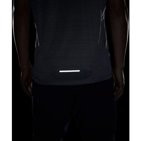 Мъжка тениска за бягане - Nike DRY MILER TOP SS M - 9