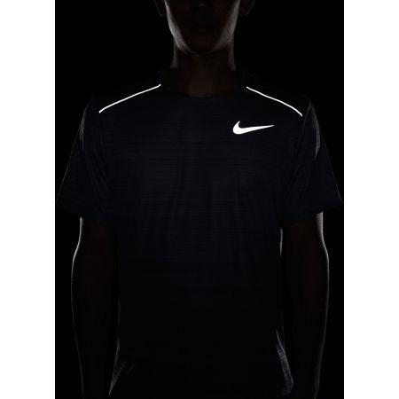 Мъжка тениска за бягане - Nike DRY MILER TOP SS M - 8