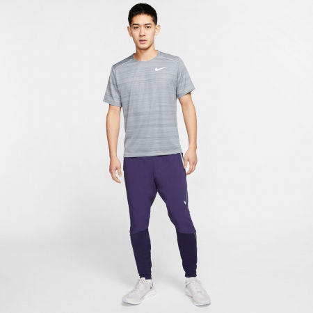 Мъжка тениска за бягане - Nike DRY MILER TOP SS M - 10