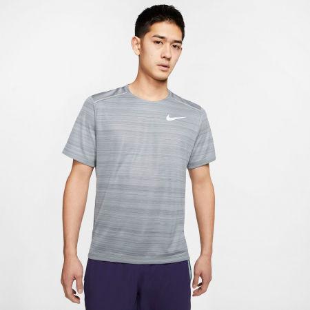 Мъжка тениска за бягане - Nike DRY MILER TOP SS M - 3
