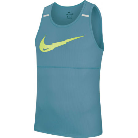 Nike BRTHE RUN TANK WR GX M - Pánske bežecké tielko