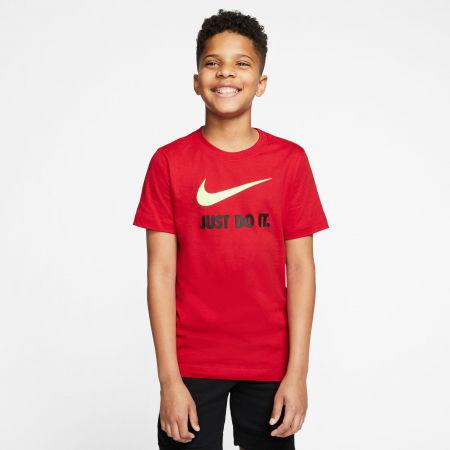 Chlapčenské tričko - Nike NSW TEE JDI SWOOSH B - 3