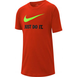 Nike NSW TEE JDI SWOOSH B - Chlapecké tričko