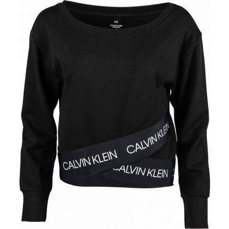 Дамски суитшърт - Calvin Klein PULLOVER - 1