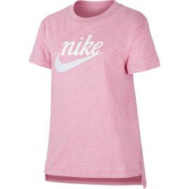 Nike NSW TEE DPTL SCRIPT FUTURA G - Dívčí tričko