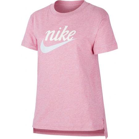 Dívčí tričko - Nike NSW TEE DPTL SCRIPT FUTURA G - 1