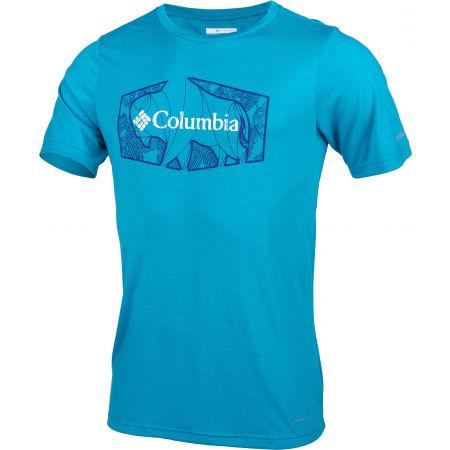 Мъжка тениска - Columbia TERRA VALE™ II SS TEE - 2