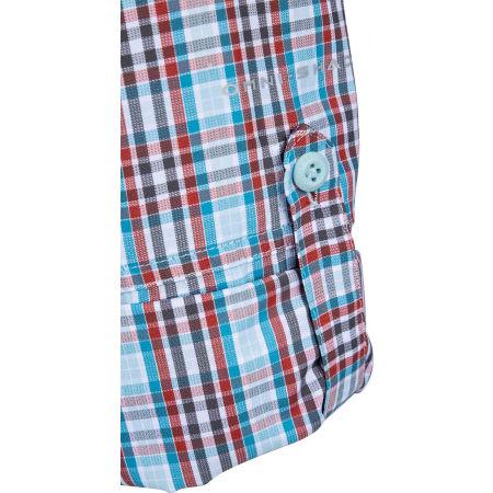 Pánska košeľa s dlhým rukávom - Columbia SILVER RIDGE™ 2.0 PLAID L/S SHIRT - 6
