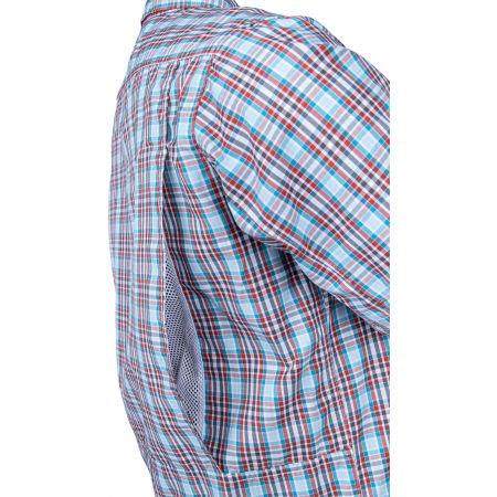 Pánska košeľa s dlhým rukávom - Columbia SILVER RIDGE™ 2.0 PLAID L/S SHIRT - 4