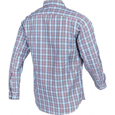 Pánska košeľa s dlhým rukávom - Columbia SILVER RIDGE™ 2.0 PLAID L/S SHIRT - 3