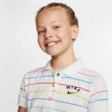 Dievčenské šaty - Nike NSW DRESS POLO FB G - 5