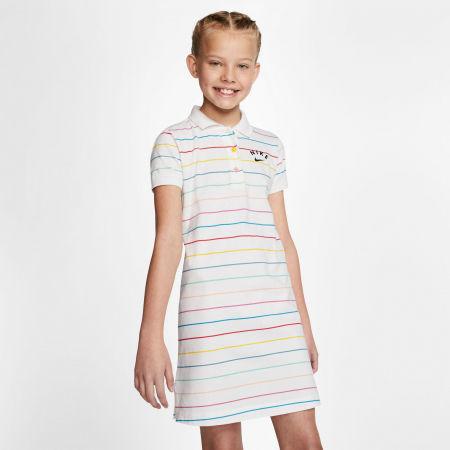 Dievčenské šaty - Nike NSW DRESS POLO FB G - 3