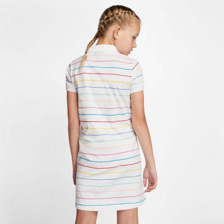 Dievčenské šaty - Nike NSW DRESS POLO FB G - 4