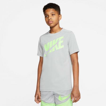 Chlapčenské športové tričko - Nike HBR + PERF TOP SS B - 3