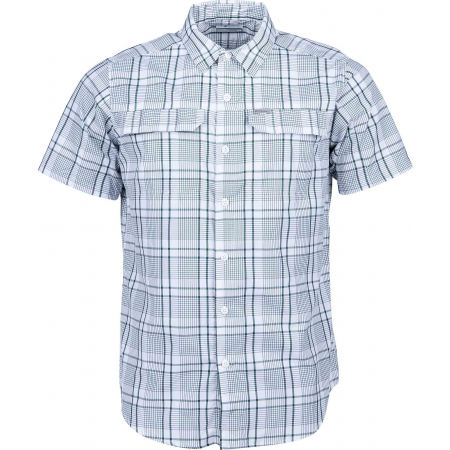 Men's long sleeve shirt - Columbia SILVER RIDGE 2.0 MULTI PLAID SS SHIRT - 1