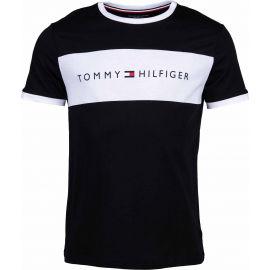 Tommy Hilfiger CN SS TEE LOGO FLAG - Pánske tričko