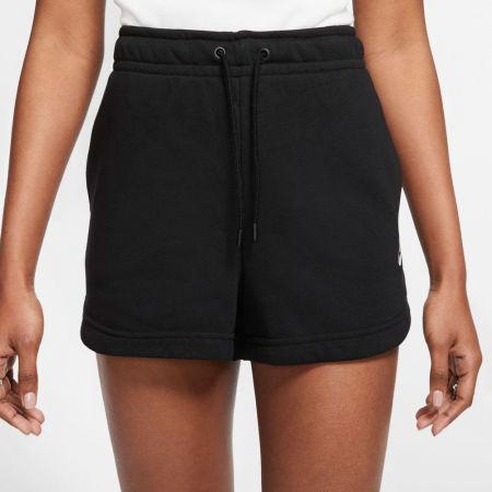 Women's sport shorts - Nike NSW ESSNTL SHORT FT W - 4