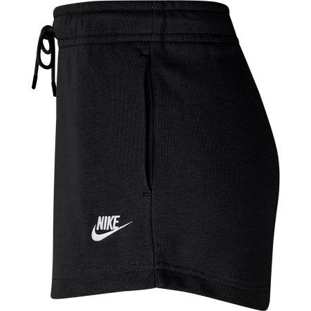 Women's sport shorts - Nike NSW ESSNTL SHORT FT W - 2