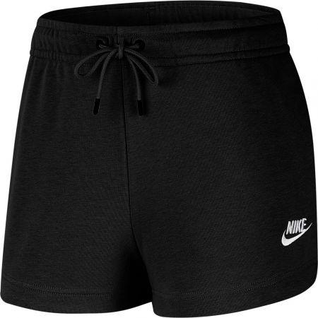 Women's sport shorts - Nike NSW ESSNTL SHORT FT W - 1