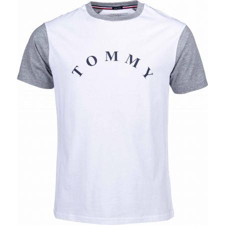 Pánské tričko - Tommy Hilfiger CN SS TEE LOGO - 1