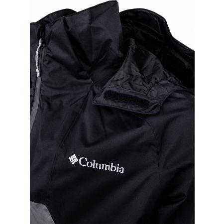 Pánska bunda - Columbia RAIN SCAPE JACKET - 6