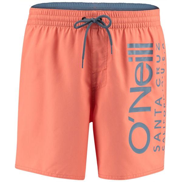 O'Neill PM ORIGINAL CALI SHORTS oranžová M - Pánské koupací šortky
