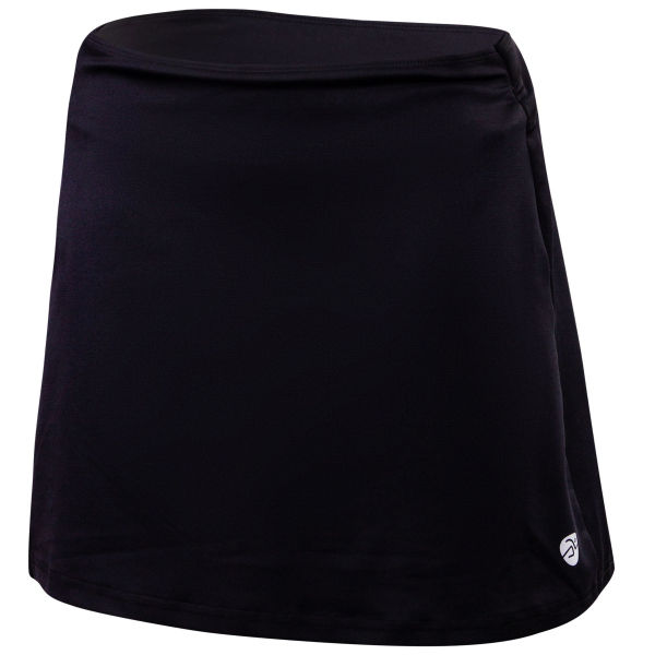 Klimatex MONIQ černá XS - Dámská běžecká sukně 2v1